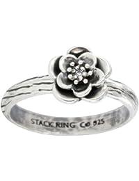 Prima Vintage Stack Ring - Damson