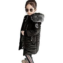 Blouson Manteau Fourrure Chaud Enfant Garçon Fille Doudoune à Capuche -  Veste à Manches Longues Sport bébé Ski Vêtement 74b76cec651