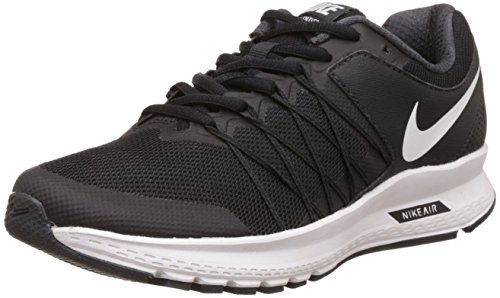 Nike Men's Blk and Wht Running Shoes
