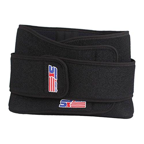 Fenteer Rückenbandage - Rücken-Gurt zur Stützung der Lendenwirbel für die Perfekte Haltung - Rückenstütze für Damen und Herren