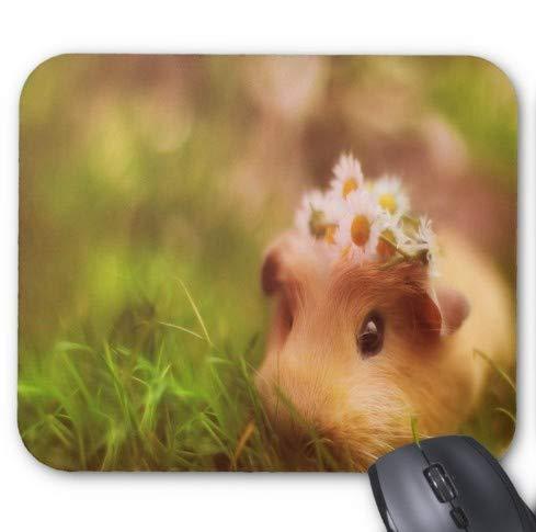 Gaming Mouse Pad niedliche Tier kleine Ratte Design für Desktop und Laptop 1 Packung 22x18 cm / 8.66x7in