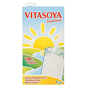 Valsoia Soyadrink 100% Vegetale con e Proteine senza Glutine - 1000 ml