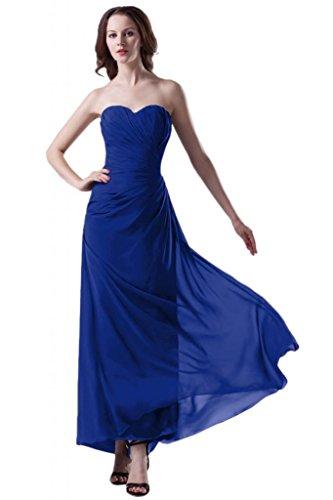 Sunvary Trailing chiffon alto basso vestiti per sera o con sexy apertura posteriore Purple