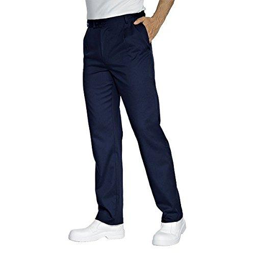 ISACCO - Pantalone Lavoro Blu Poliestere / Cotone - M