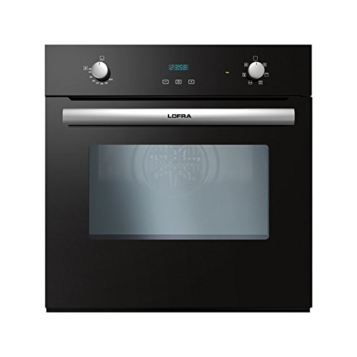 Lofra FOVN66GE Gas natural 66L A Negro - Horno (Medio, Gas natural,...