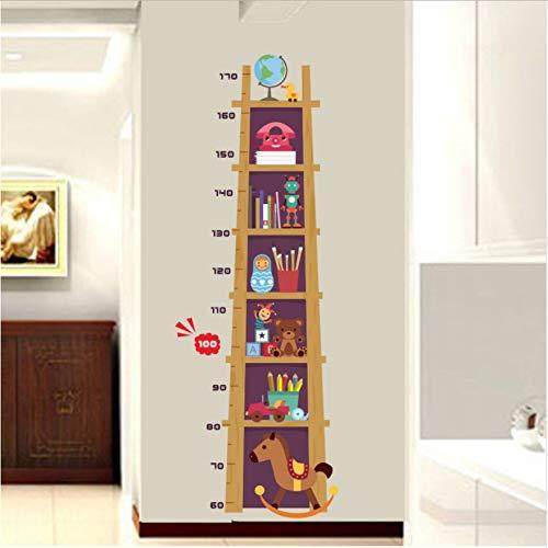 Höhe Wandaufkleber Bücher Spielzeug Globus Wachstum Diagramm Stadiometers Big Size Decor Decals Für Kinderzimmer -