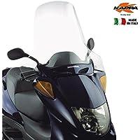 /500/Evolution 03/ 08 /250/ Kappa kd229st Piaggio X9/200/ Windschutzscheibe transparent 65/x 50/cm H x L