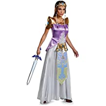 Adult Zelda Deluxe Fancy dress costume Small