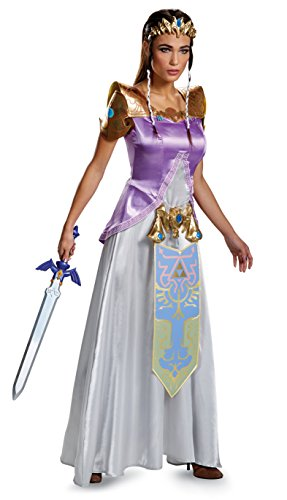 Legend of Zelda Princess Zelda Deluxe Costume Adult Medium 8-10 (Prinzessin Zelda Kostüm Kind)