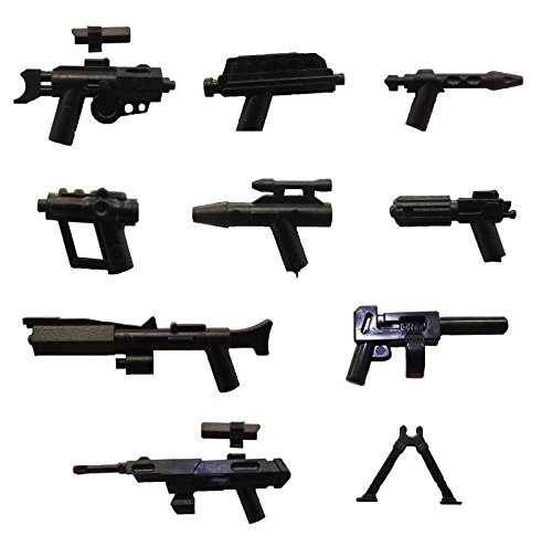 LEGO® / Little Arms Star Wars™ 9-teiliges Waffen-Set Sniper Blaster Pistol (Sniper Set)