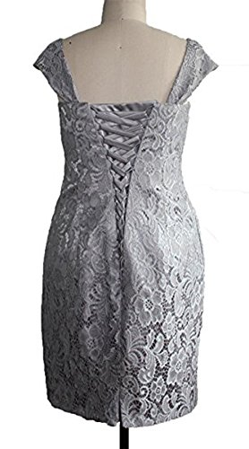 CoCogirls - Robe - Chemise - Femme Gris