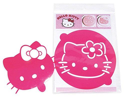 Scrapcooking HK8080 Hello Kitty Set de 2 Pochoirs pour Gâteaux PVC Multicolore 30 x 22,5 x 0,1 cm