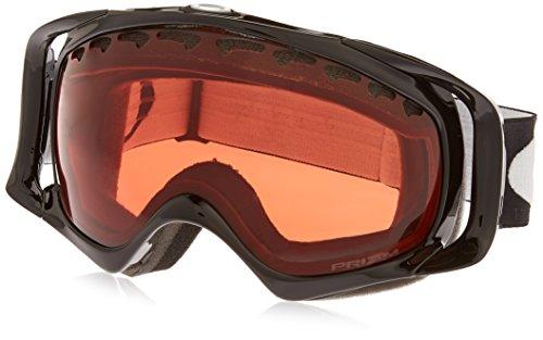 Oakley Unisex-Erwachsene Crowbar Skibrille, Jet Black, EL. Adjustable
