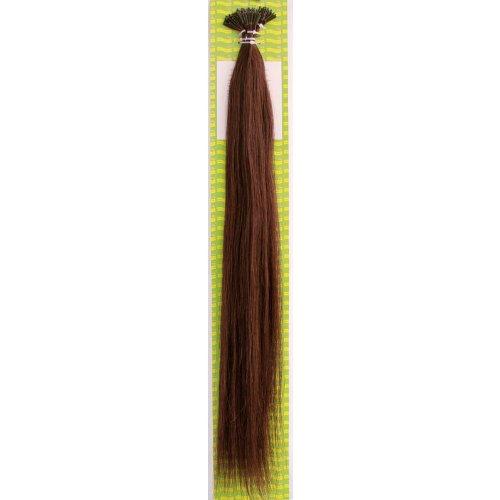 'Dream Hair Stick Extensions 100 Pieces Str 22 : 4 22/56 cm Human Hair Extensions de cheveux Marron (Extension de cheveux 56 cm 100s)