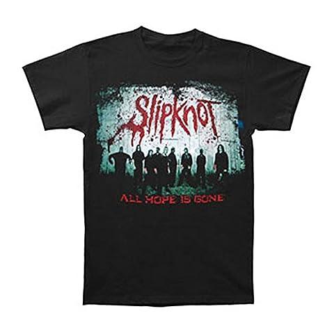 Slipknot Men's Bloody Barn 09 Tour T-shirt Small Black