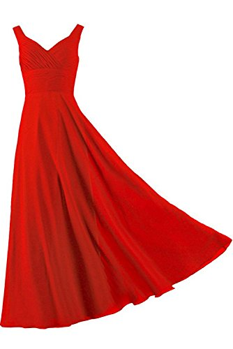 Ivydressing -  Vestito  - linea ad a - Donna Rot