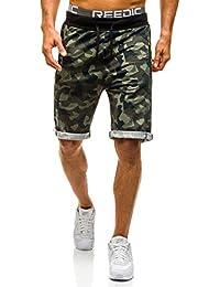 BOLF Herren Kurzhose Sporthose Short Hose Army Camo Casual 7G7 Motiv