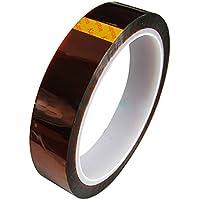 LEORX Nastro Kapton Polyimide Film nastro adesivo, 33M 20mm larghezza ad alta temperatura resistente al calore