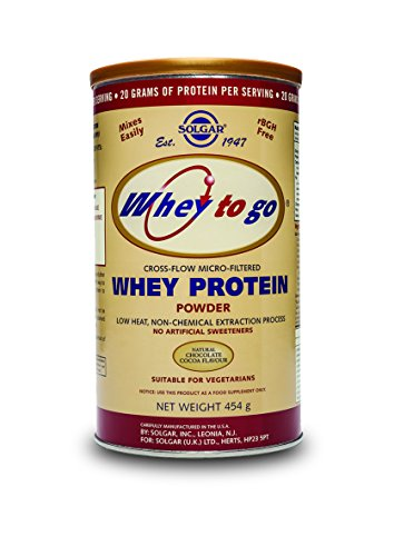 Solgar Protein Chocolate Integratore Alimentare di Proteine per il Tono Muscolare in Polvere - 454 gr