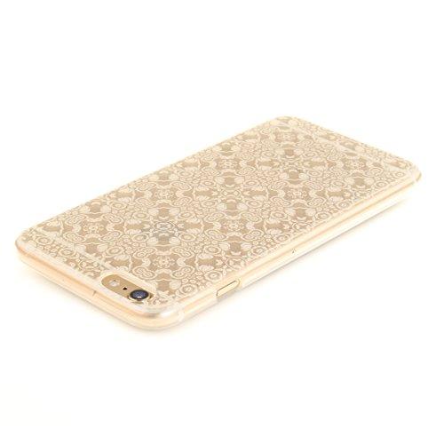 Felfy iphone 6S Plus Silikone Case,iphone 6 Plus Hülle,iphone 6s Plus Schutzhülle Ultra Dünnen Weiche Gel TPU Silikone Transparent Schutzhülle Bumper Case Handy Tasche Hülle für Apple iPhone 6 Plus/6S Weiße Spitze