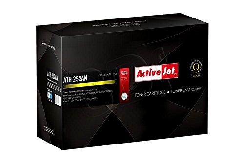 Preisvergleich Produktbild ActiveJet EXPACJTHP0174 Toner ATH-252AN Refill für HP CE252A, 7000S, gelb