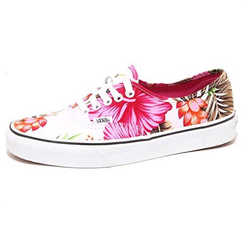 Vans K Authentic, Unisex Kinder Hohe Sneakers, Weiß - weiß - Größe: 31 (Größe 1 Kinder Schuhe Jungen Vans)