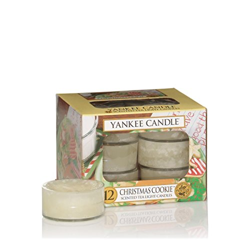 Yankee Candle 8752 Duftteelichter Christmas Cookie (Candle Fragrance Oil Home)