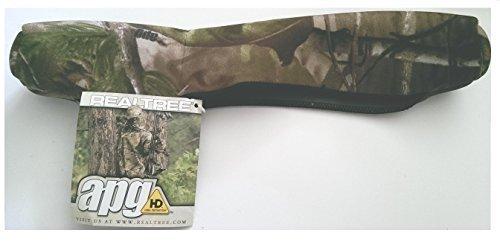 """Realtree Camo NEOPRENO Rápido encendido EXTRAIBLE Rifle Scope Funda 31cm/12.5\"""" - Proteja su MIRA POR PARTE DE suciedad y Hidratante"""