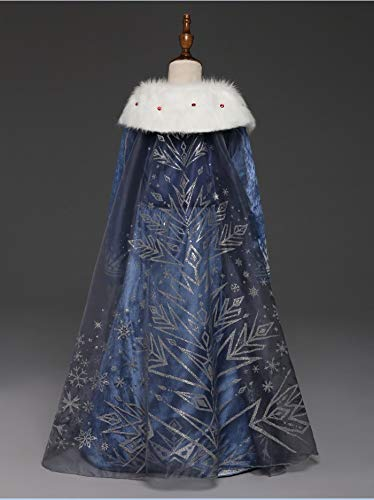 Princess Vestito Carnevale Bambina Abito Costume Bimbi Deluxe Elsa 131 5 spesavip