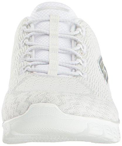 Skechers EZ FLEX 3.0 - ESTRELLA BLACK Blanc