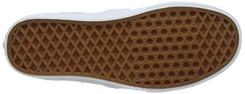 Vans Wm Asher, Scarpe da Ginnastica Basse Donna Bianco (Perf Leather)