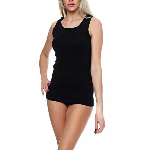 lot-de-2-4-8-maillots-de-corps-pour-femme-bretelles-spaghetti-tank-top-sous-vetements-blanc-noir-100