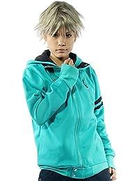 Frühling Kapuzen pullover Hoodie Ken Cosplay Kostüm Grün Sweatshirt Baumwolle Jacke Top Kleidung für Manga Merchandise