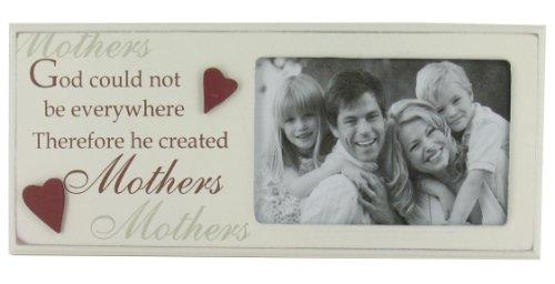 Mothers Day Delights Gott kann Nicht überall Sein Daher He Created Mütter 'Rahmen (G658) ideal Geschenk für Mama über die Mütter Tag