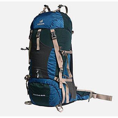 50 L Rucksack Klettern Freizeit Sport Camping & Wandern Wasserdicht Staubdicht tragbar Multifunktions Green