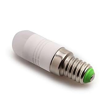 LQZ E14 2W LED Ampoule en céramique pour Lustre cristal lumière Blanc chaud 2 W équivalant à motif AC 220–240V
