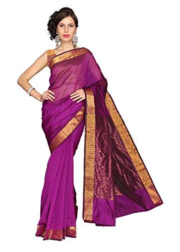 Vastrakala Cotton Silk Saree With Blouse Piece (Mpp -Pink)