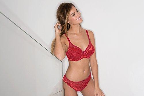 Sans Complexe Damen Bügel BH Rot (Rot)