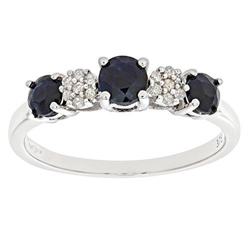 Naava Damen-Ring 9 Karat (375) Gelbgold Gr. 50 (15.9)  1 Diamant PR3740Y U