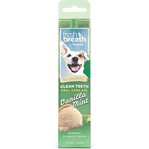 Tropiclean FBVMGLKT2Z Oral Care Gel Vanilla Mint - Mh.-Gel Vanille-Minze 59 ml - Oral Mint
