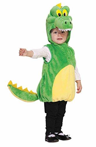 Kind Cuddlee Krokodil Kostüm Kleinkinder Größe 2-4