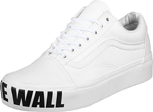 Vans Old Skool Platform, Scarpe Running Donna White