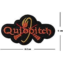 Quidditch Stickerei Patch Eisen auf oder Nähen auf Motiv Harry Potter Transfer Hogwarts Aufnäher