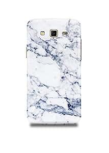 Samsung J7 Cover,Samsung J7 Case,Samsung J7 Back Cover,White & Black Marble Samsung J7 Mobile Cover By The Shopmetro-21651