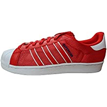best sneakers dbb3c 5a8c8 adidas Originali Superstar Scarpe da Ginnastica da Uomo S31641 Scarpe da  Tennis - Rosso Blu Bianco