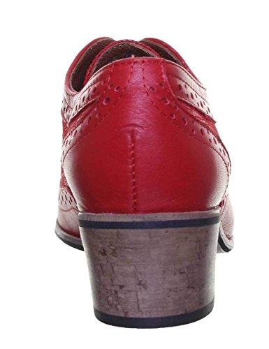 Justin Reece 9500, Stivali donna Red