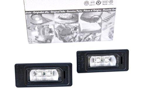 Novità. A18X a48K A58T A64G A7Q58R TT 8J Audi–Illuminazione per targa LED 4luci G0943021S-Line Targa a LED Leuchten