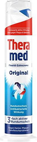 Theramed Zahncreme Spender Original, 5er Pack (5 x 100 ml)