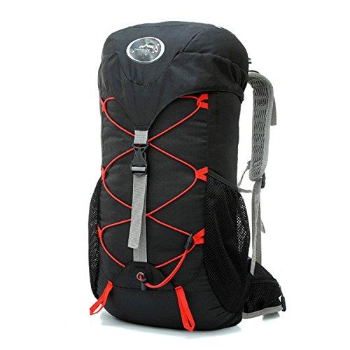 30L Outdoor Sport Zaino Da Equitazione Zaino Da Campeggio Alpinismo Borsa,ArmyGreen Black