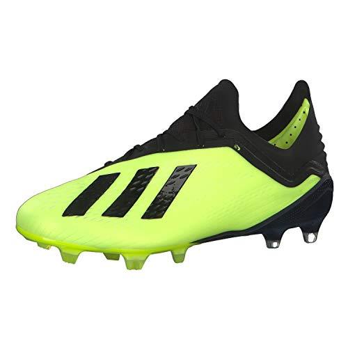 promo code f021a fae10 adidas Herren X 18.1 Fg Fußballschuhe, Gelb (Amasol Negbás Ftwbla 001)